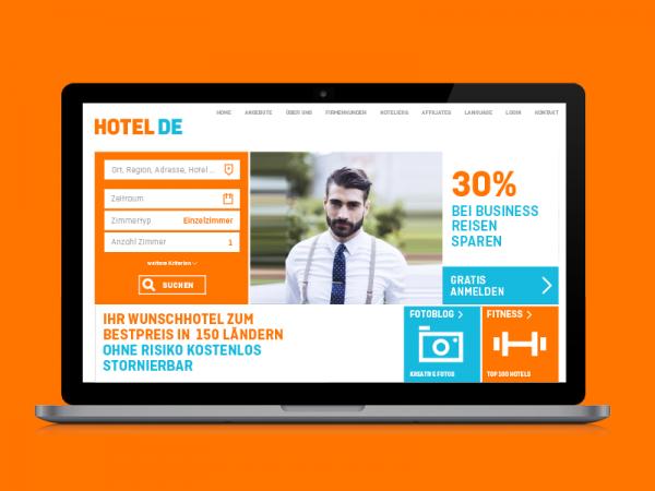hotel.de – Multi-Device Brand Experience