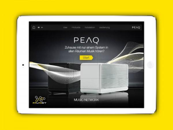 Retail-App für digitales Soundsystem